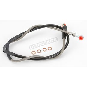 Moose Stainless Steel Front Braided Brake Line - MK01-1027