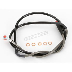 Moose Stainless Steel Front Braided Brake Line - MY011046