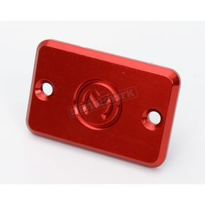 Moose Red Master Cylinder Cover Plate - M860-24