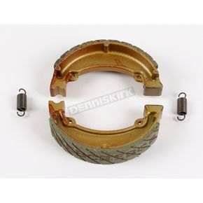 EBC Sintered Metal Grooved Brake Shoes - 318G