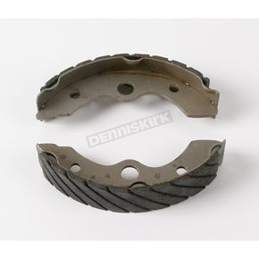 EBC Sintered Metal Grooved Brake Shoes - 339G
