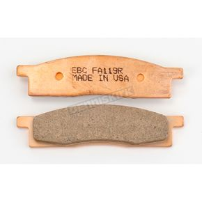 EBC Long-Life Sintered R-Series Brake Pads - FA119R