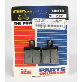 SBS Excel LS Sintered Metal Street Brake Pads - 519LS