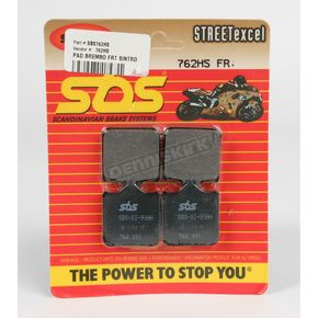 SBS Excel HS Sintered Metal Street Brake Pads - 762HS