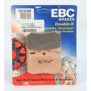 EBC Double H Sintered Metal Brake Pads - FA216/3HH
