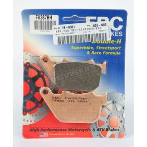 EBC Double H Sintered Metal Brake Pads - FA387HH