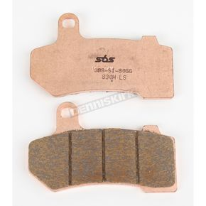 SBS Rear Street Excel Sintered Metal Brake Pads - 830HLS
