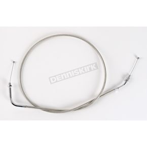 Motion Pro Armor Coat Braided Stainless Steel Push Throttle Cable - 65-0264