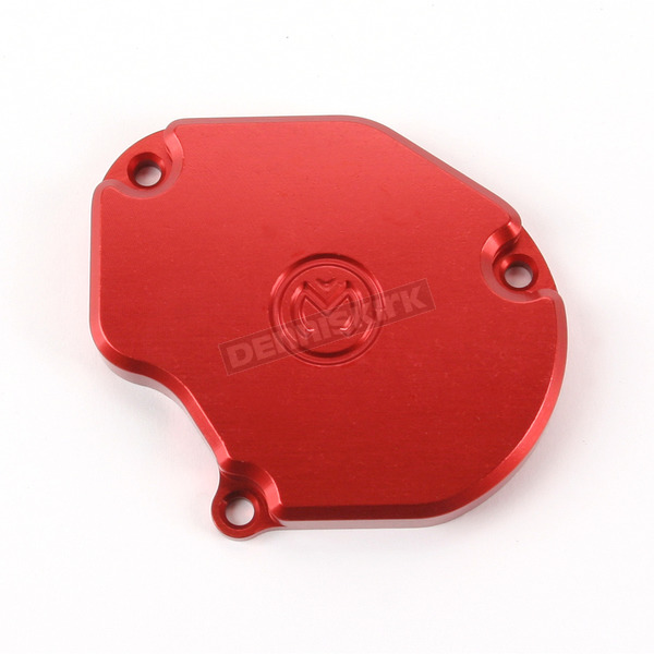 Moose Red Throttle Cover - 0632-0237