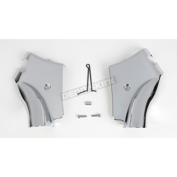 Show Chrome Chrome Neck Covers - 71-325