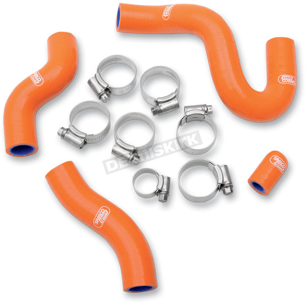 Moose Orange Race Thermostat Bypass Radiator Hose Kit - 1902-0695