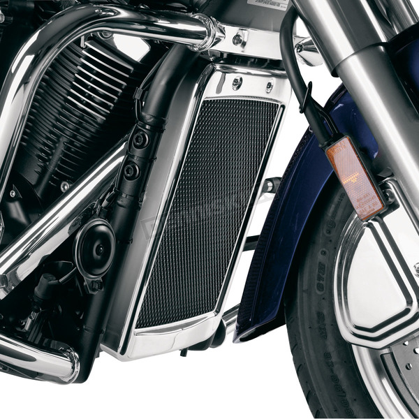 Show Chrome Mesh Radiator Grille - 63-316