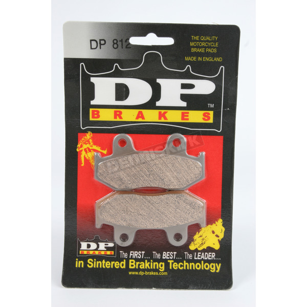 DP Brakes Standard Sintered Metal Brake Pads - DP812
