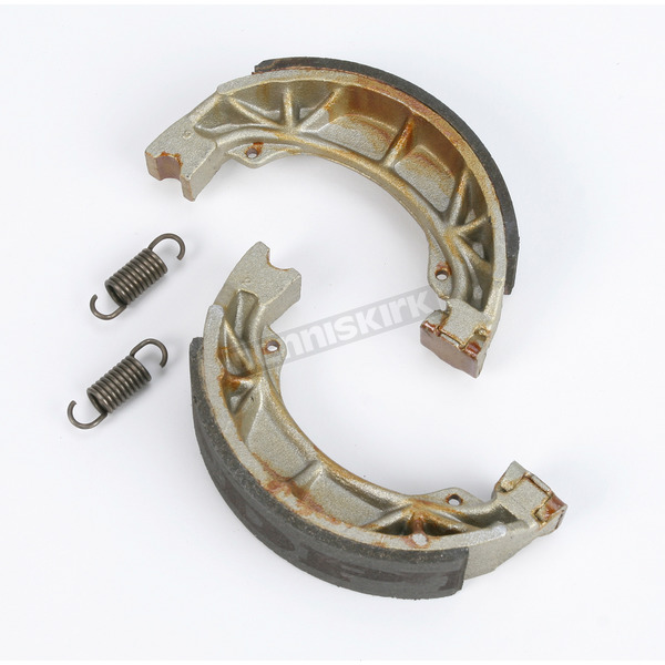DP Brakes Asbestos Free Sintered Metal Brake Shoes - 9100