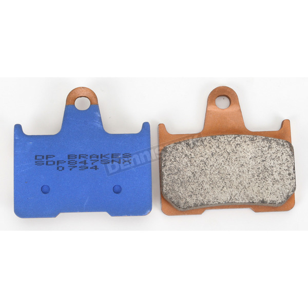 DP Brakes High Friction HH+ Sintered Metal Brake Pads - SDP847SNX