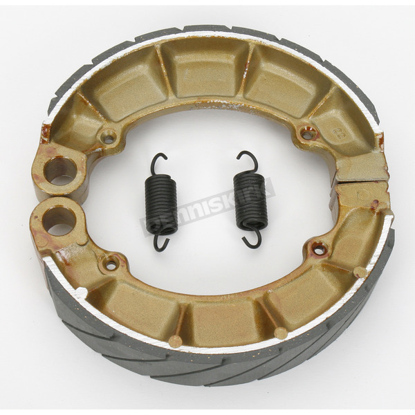 EBC Sintered Metal Grooved Brake Shoes - 343G