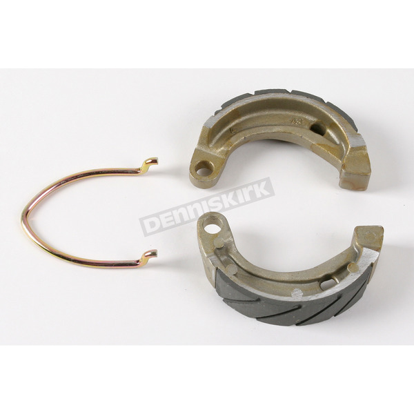 EBC Sintered Metal Grooved Brake Shoes - 338G