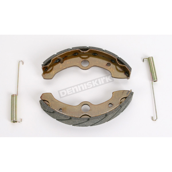 EBC Sintered Metal Grooved Brake Shoes - 524G