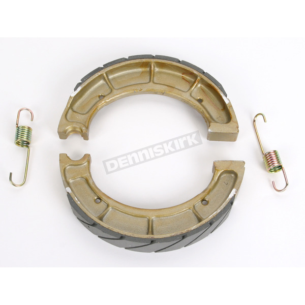 Sintered Metal Grooved Brake Shoes - 528G