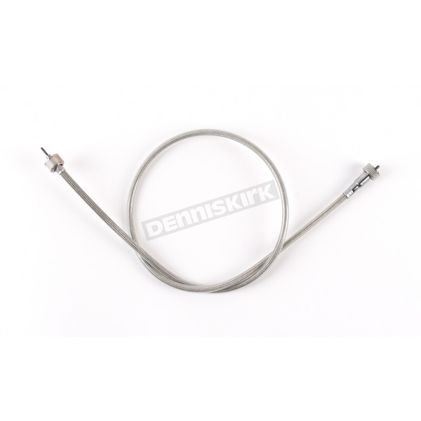 Drag Specialties Clear Coated Stainless Steel Speedometer Cable - 0655-0048