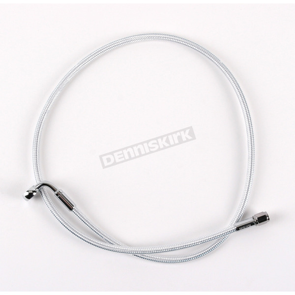 Magnum Custom Sterling Chromite II Designer 7/16 in. 90 Degree Series Upper Front Brake Line  - 37329