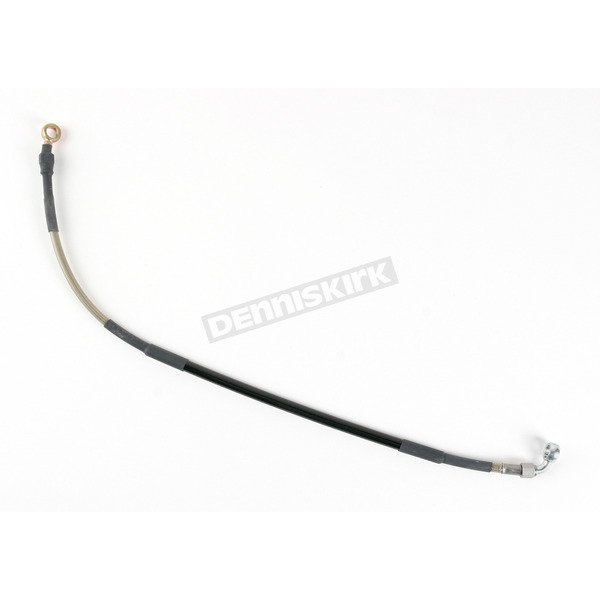 Moose Stainless Steel Rear Braided Brake Line - 1741-0263