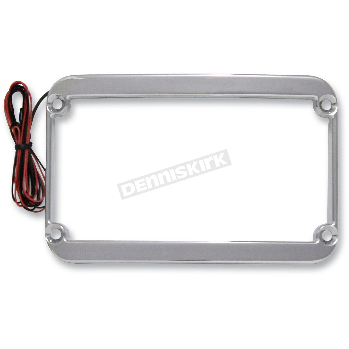 Klock Werks Chrome Lighted License Plate Frame - 2030-0803 Harley ...