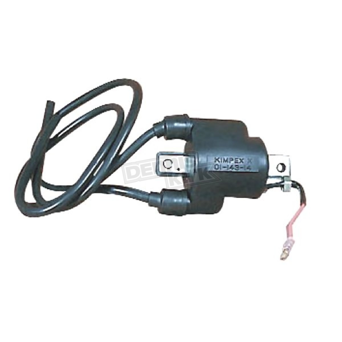 Parts Unlimited External Ignition Coil w/Spark Plug Wires - 01-143 ...