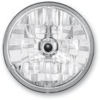 7 in. Diamond-Cut Trillient Halogen Headlight w/Black Dot - T70304