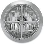 Chrome 5 3/4 in. Crossbar Visions Headlight - 02072004CBRCH