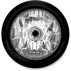 Contrast Cut 5 3/4 in. Clean Visions Headlight - 02072004CLEB