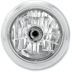 Chrome 5 3/4 in. Merc Visions Headlight - 02072004MRCCH