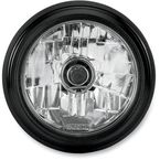 Black Ops 5 3/4 in. Grill Visions Headlight - 02072004MRCSMB