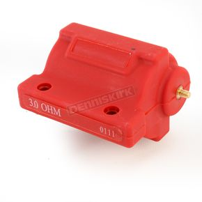 Drag Specialties Red Dual-Fire Ignition Coil - 2102-0217