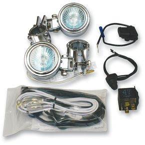 Rivco Universal Driving Light Kit for 1 in. dia. Tubing - DL20K1