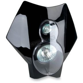 Trail Tech Black X2 Headlight - 36T2A-70