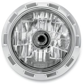 Performance Machine Chrome 5 3/4 in. Apex Visions Headlight - 02072004APXCH