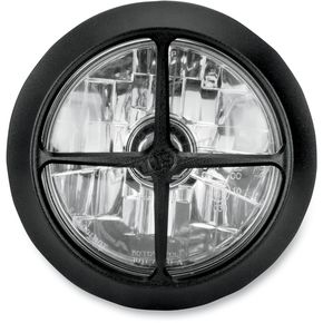 Performance Machine Black Ops 5 3/4 in. Crossbar Visions Headlight - 02072004CBRSMB
