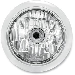 Performance Machine Chrome 5 3/4 in. Clean Visions Headlight - 02072004CLECH