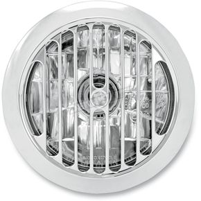 Performance Machine Chrome 5 3/4 in. Grill Visions Headlight - 02072004GRLCH