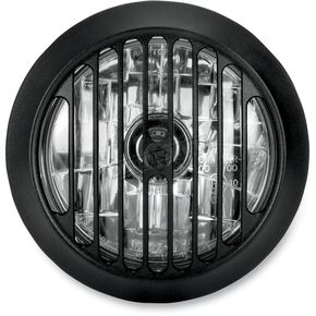 Performance Machine Black Ops 5 3/4 in. Grill Visions Headlight - 02072004GRLSMB