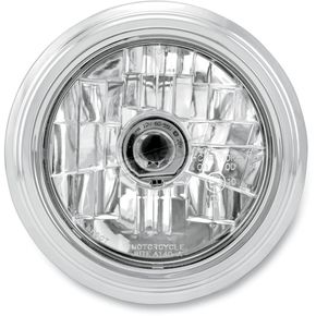 Performance Machine Chrome 5 3/4 in. Merc Visions Headlight - 02072004MRCCH