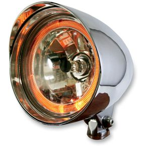 Rivera Primo 5 3/4 in. Flame Thrower Max Headlight - 1116-0020