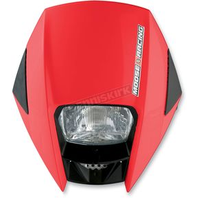Moose Red Road Warrior Headlight - 2001-0675