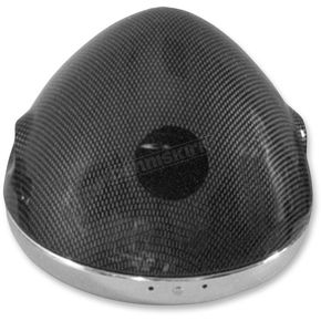 Emgo Carbon 7 in. Classic Style Headlight  - 66-65069