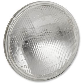 Emgo 5 3/4 in. 12V 37.5/60W Sealed Beam Headlight - 66-84134T