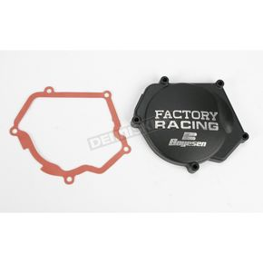Factory Racing Ignition Cover-Black - SC-32AB