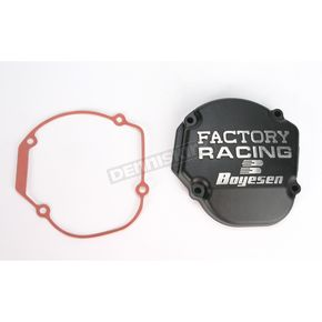 Factory Racing Ignition Cover-Black - SC-02AB