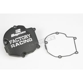 Factory Racing Ignition Cover-Black - SC11AB
