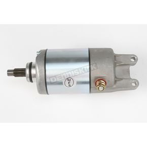 Parts Unlimited Starter w/Long Shaft - 2110-0015
